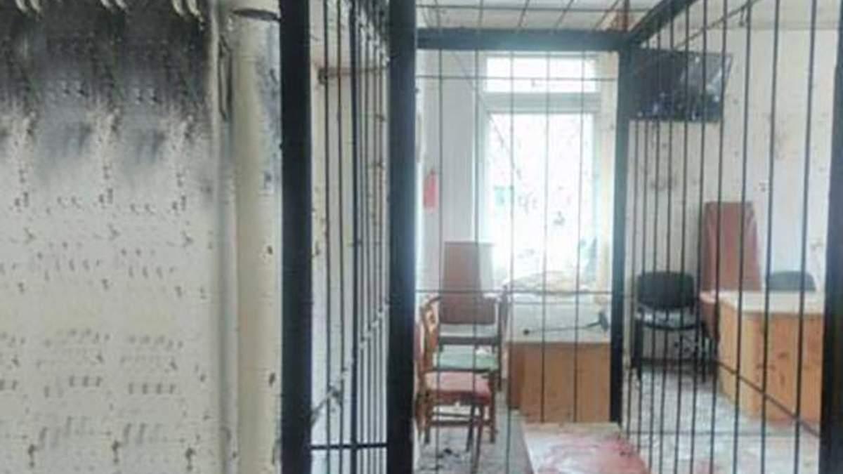 Суд у Нікополі після вибуху