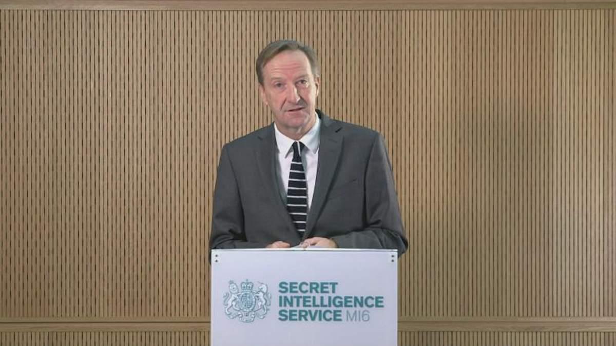 Алекс Юнгер вважає Росію головною загрозою для міжнародної безпеки Британії