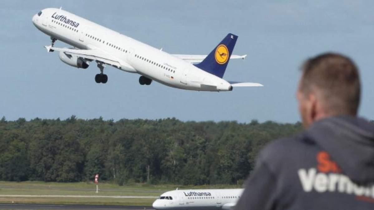 Літак Lufthansa