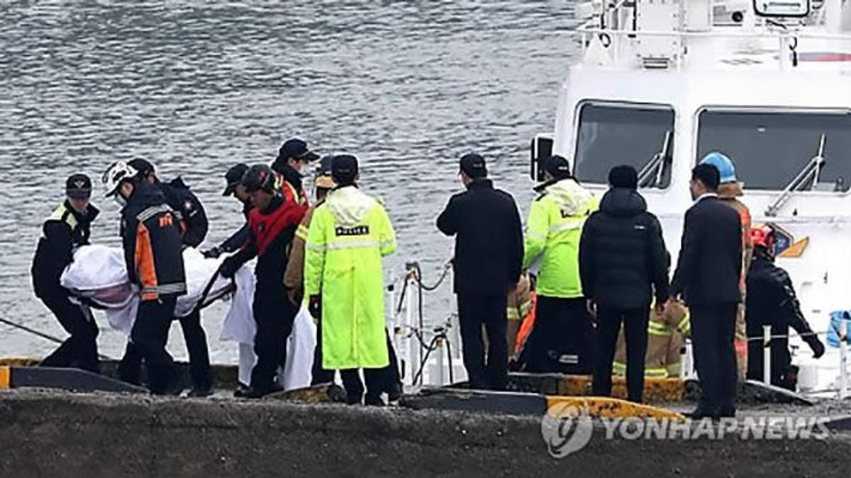 Возле берегов Южной Кореи столкнулись два судна, погибли по меньшей мере 13 человек