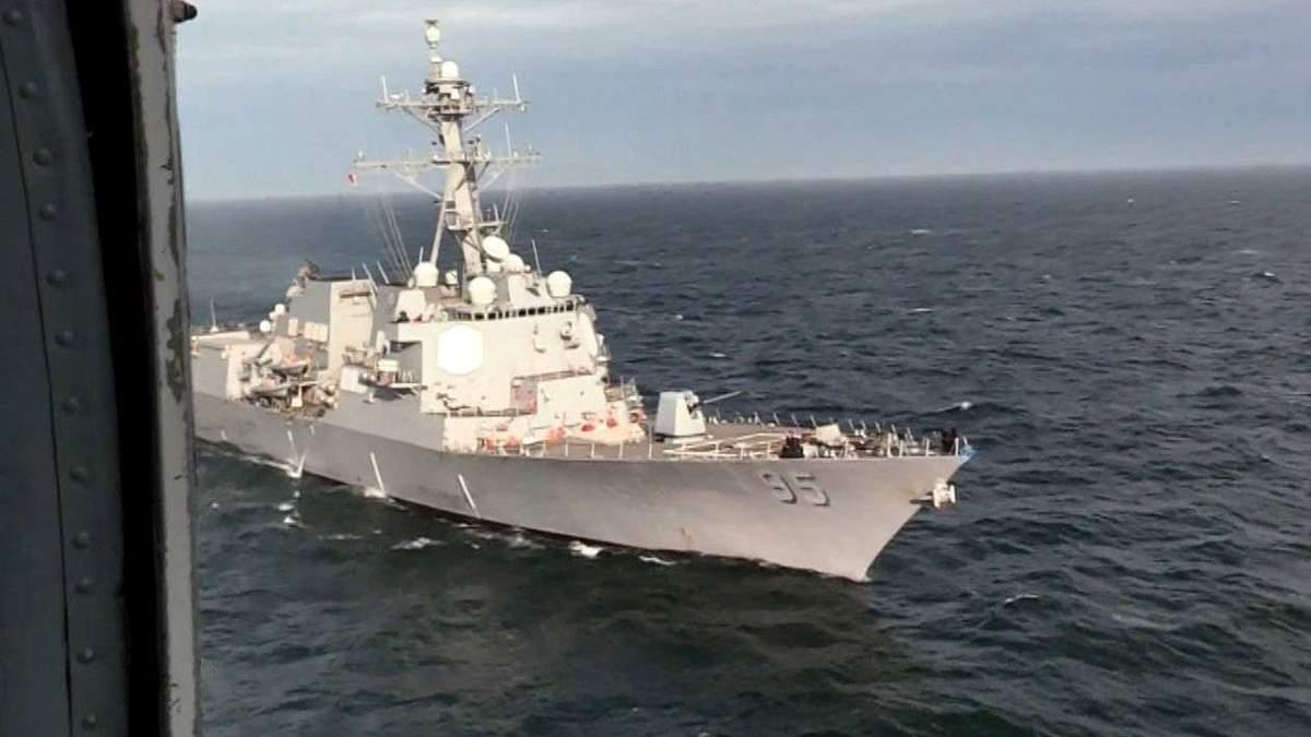 У Росії в'їдливо відреагували на військові навчання США і України у Чорному морі