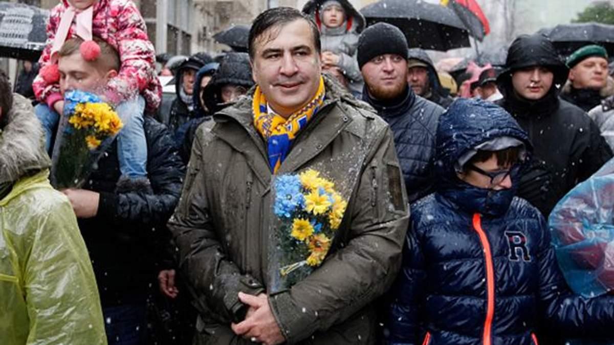 Саакашвили анонсировал новый митинг на Майдане в Киеве