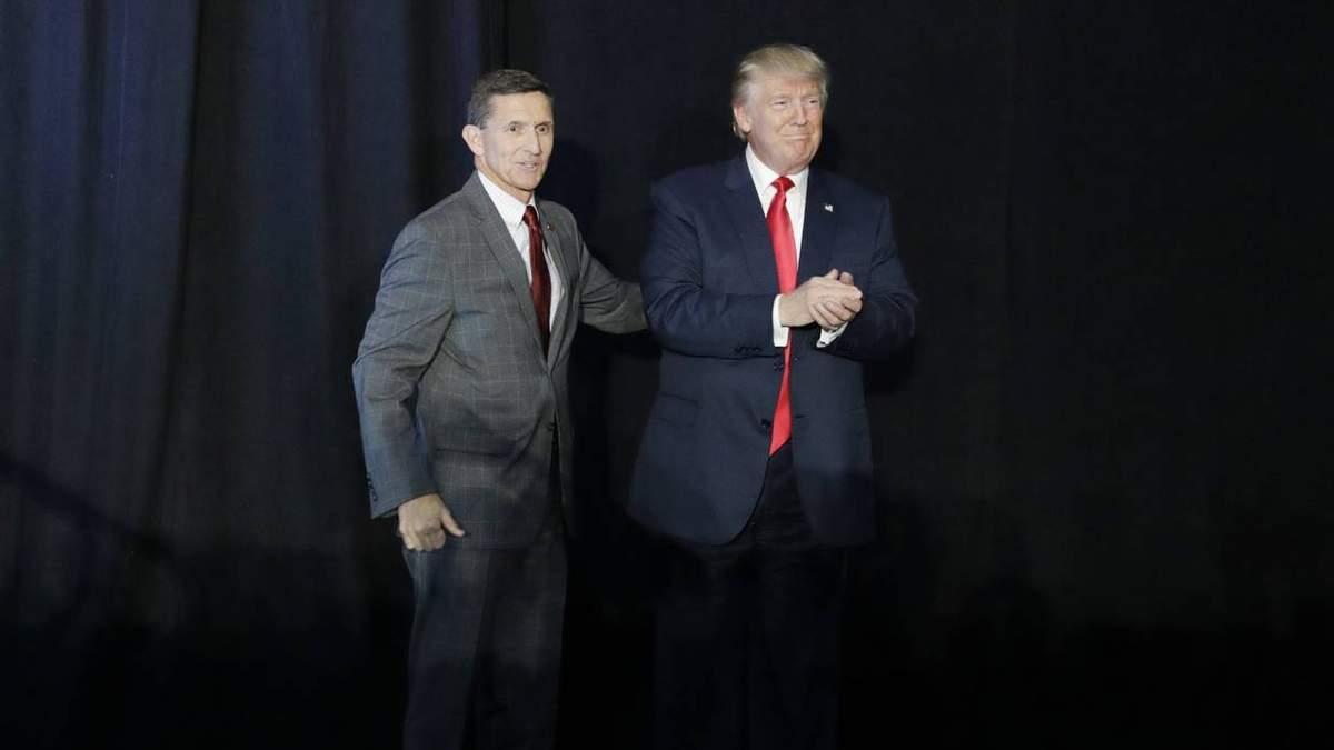 Майкл Флинн и Дональд Трамп