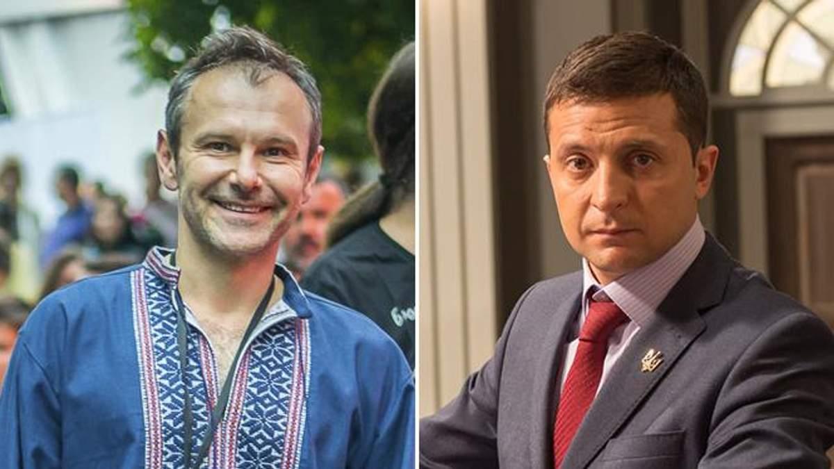 Експерт пояснив, як політики використовують Вакарчука і Зеленського