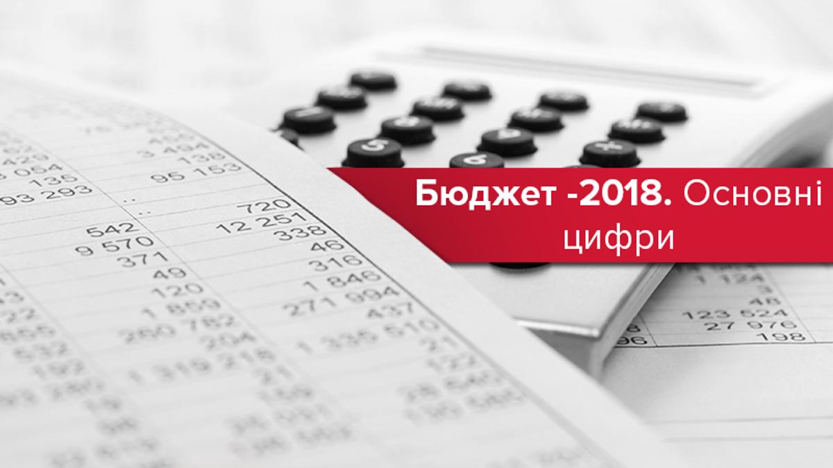 Бюджет 2018: основные расходы бюджета Украины в цифрах