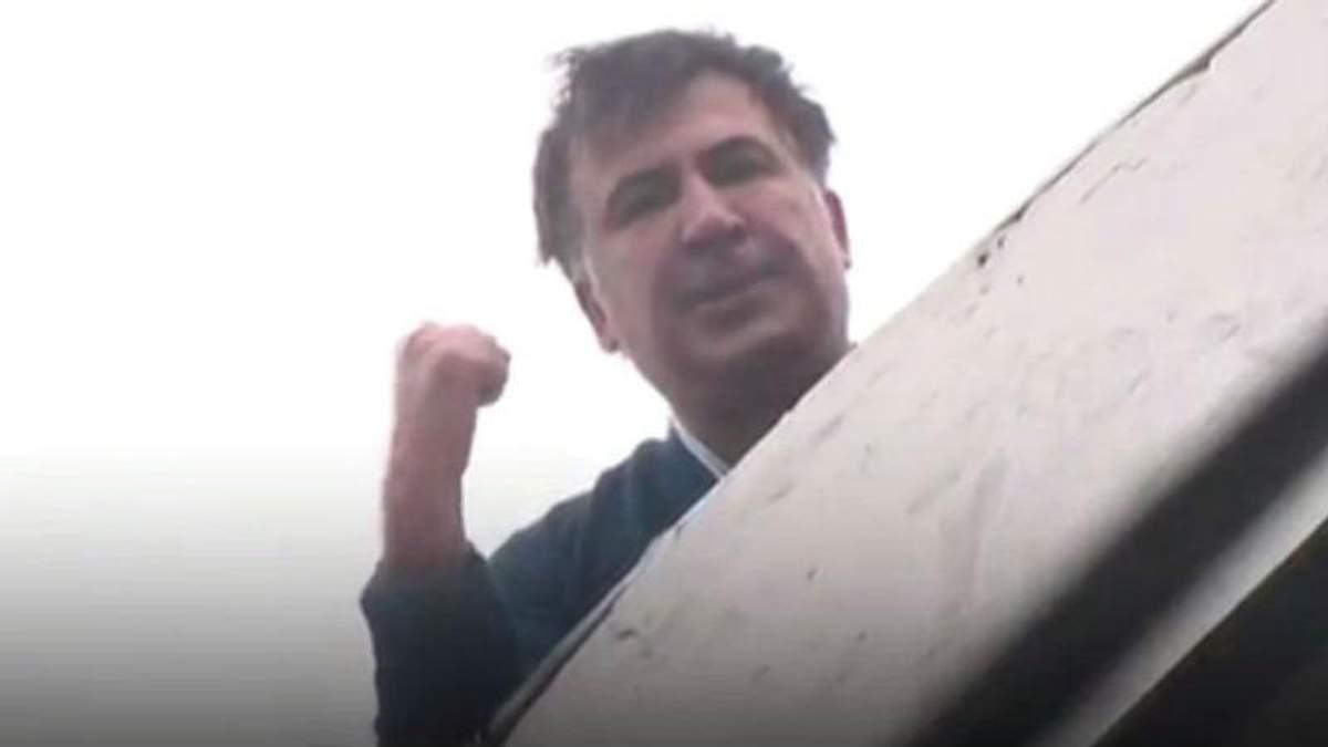 Чому Саакашвілі видерся на дах – Сакварелідзе пояснив, що це був план