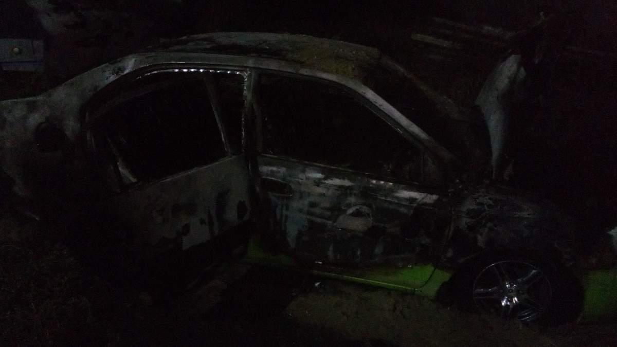 На Дніпропетровщині спалили авто росіянина з проукраїнськими поглядами