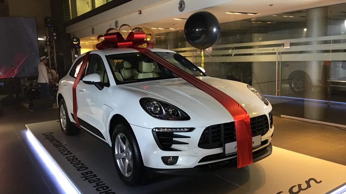 Новенький Porsche Macan розіграли серед клієнтів дилера