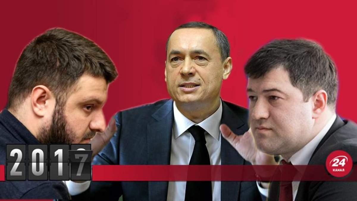 Самые громкие дела НАБУ 2017 - почему Порошенко прессует бюро