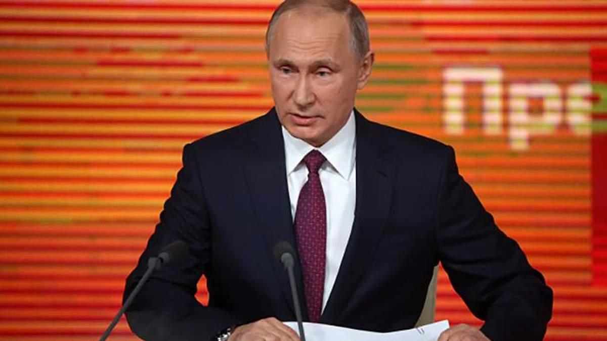 На прес-конференції Путіна зібралась рекордна кількість журналістів