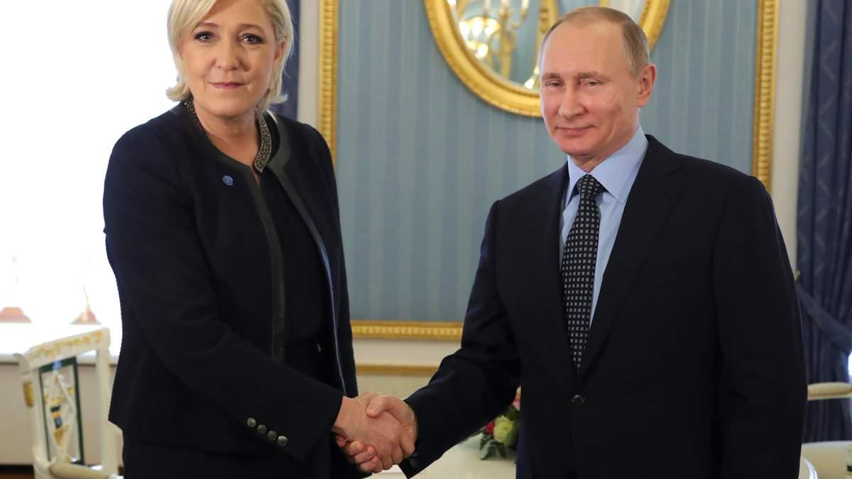 Марин Ле Пен заявила о поддержке Путина на выборах в 2018 году