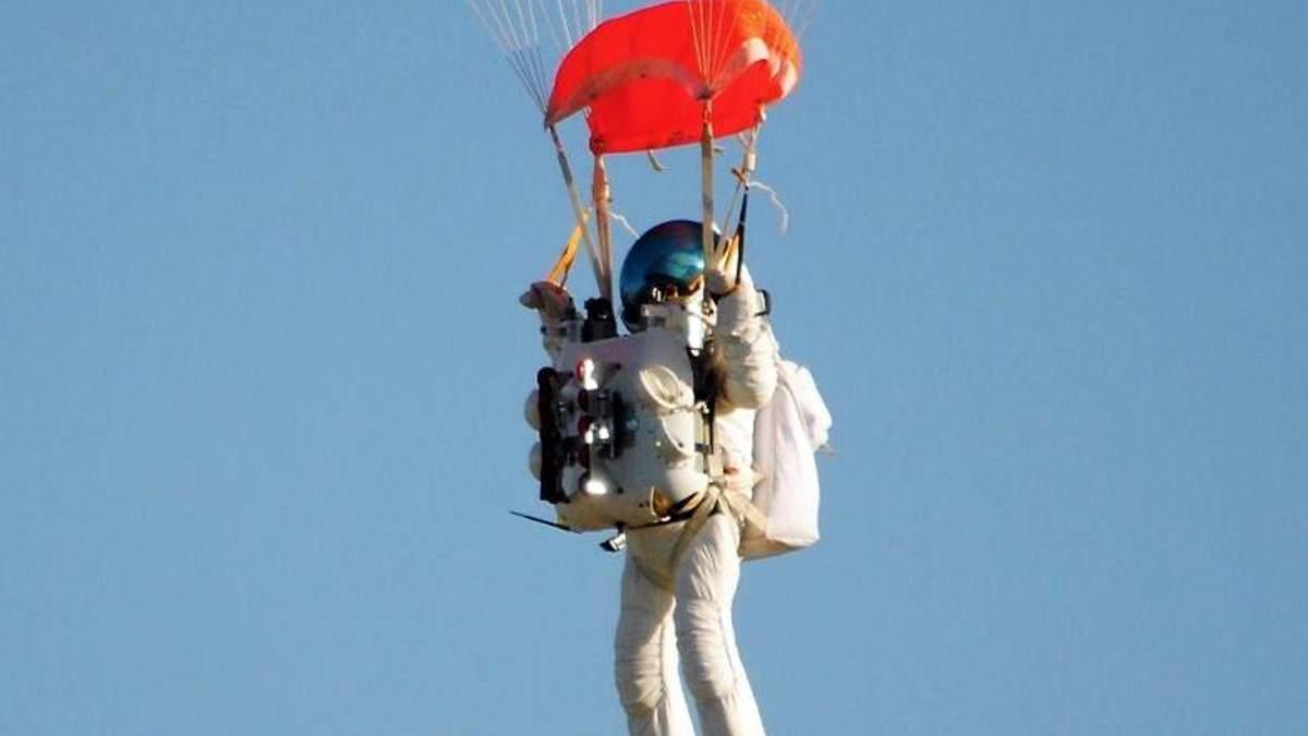Алан Юстас – людина, яка стрибнула з парашутом зі стратосфери