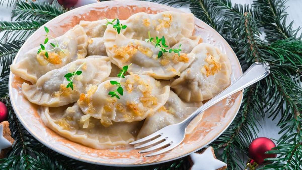 Рецепт вареников на Святой вечер – блюда на Рождество 2020