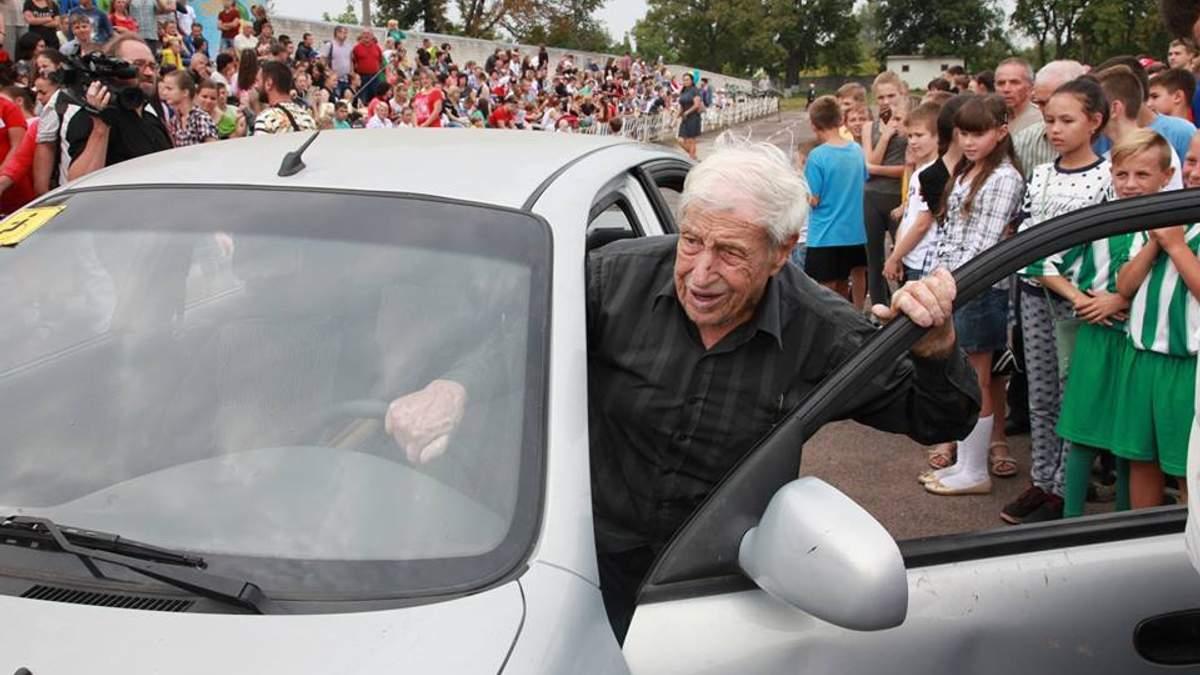 Умер самый старый водитель-рекордсмен в Украине Анатолий Грищинский
