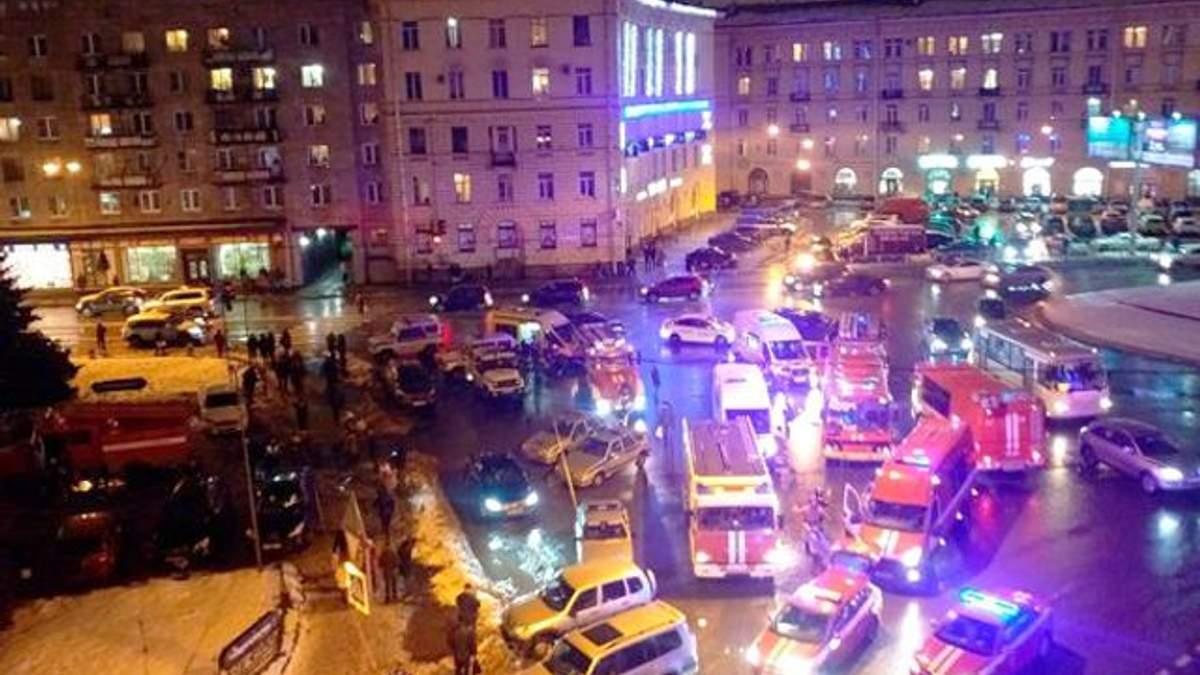 Вибух у Санкт-Петербурга: 13 осіб постраждалих