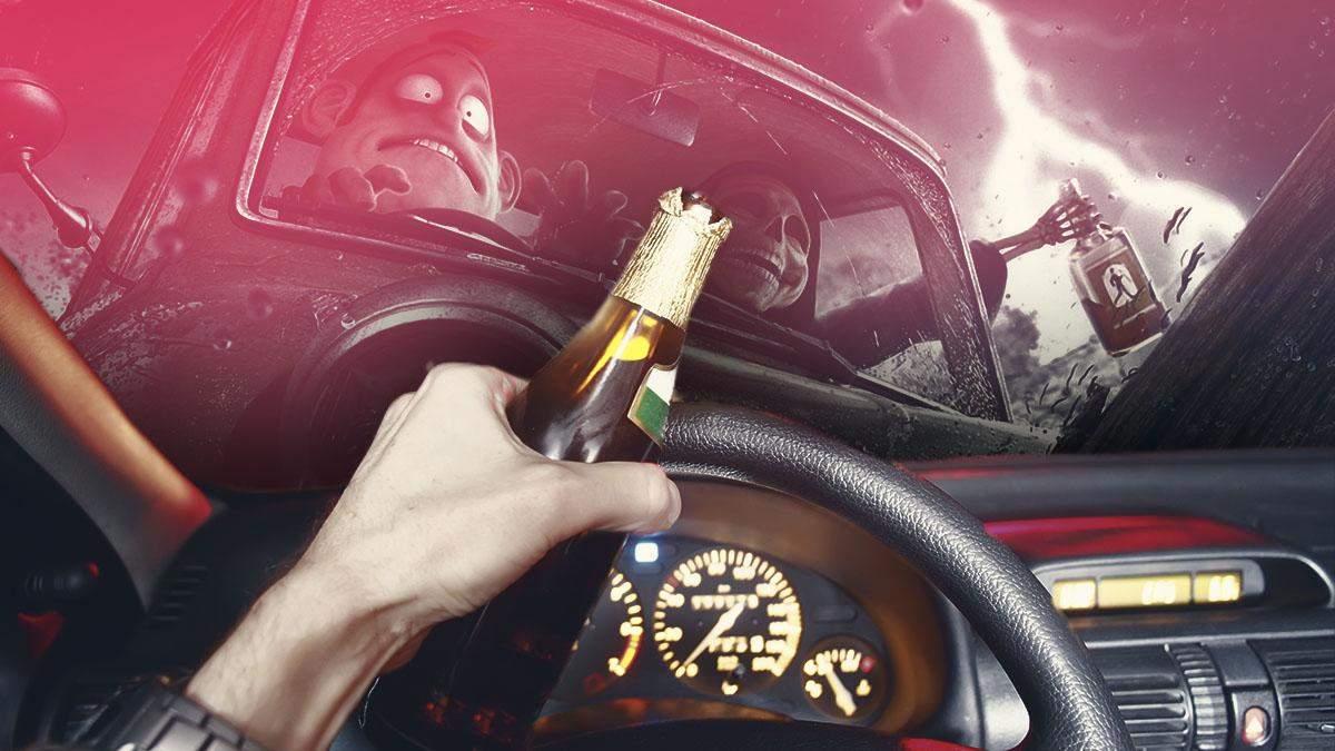 Сколько можно выпить за рулем водителю в Украине