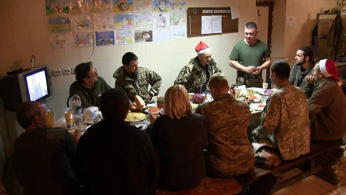 Як на передовій зустріли Новий рік: спецрепортаж з зони АТО