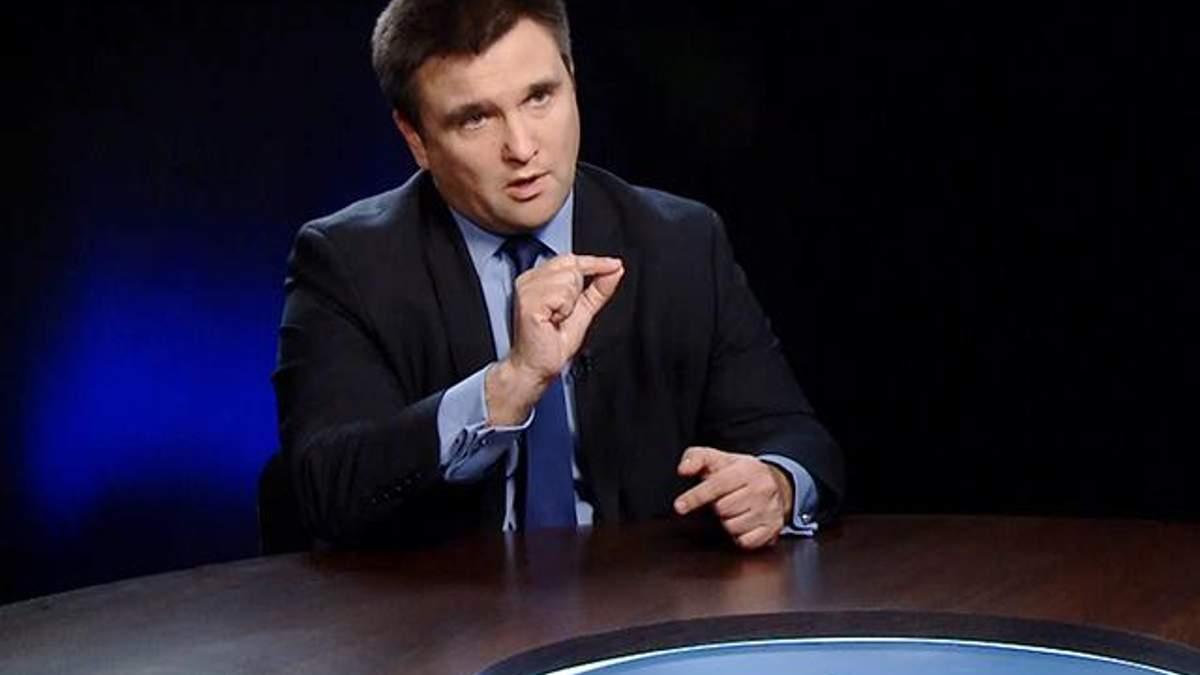Клімкін розповів, у яких випадках Україна застосовуватиме летальну зброю зі США