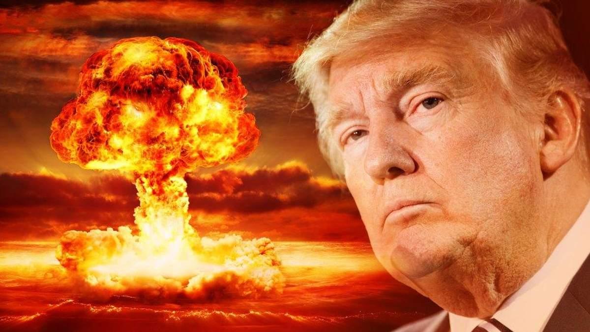 """Трамп знає, як працює """"ядерна кнопка"""", – Білий дім"""