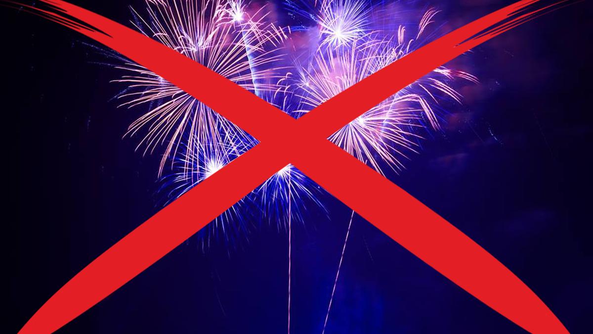 Запрет фейерверков: почему, где и как долго