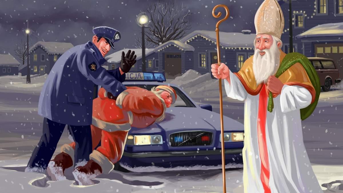Дед Мороз одной ногой в могиле?