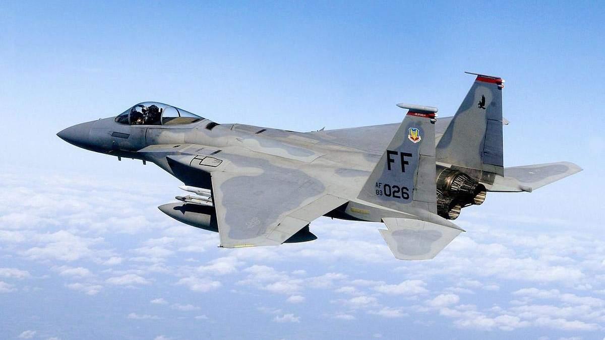 Американський винищувач F-15