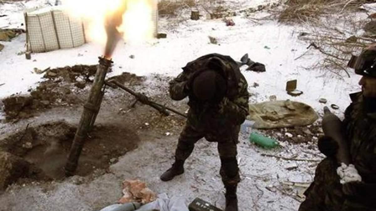 На святвечір в зоні АТО бойовики обстріляли бійців АТО