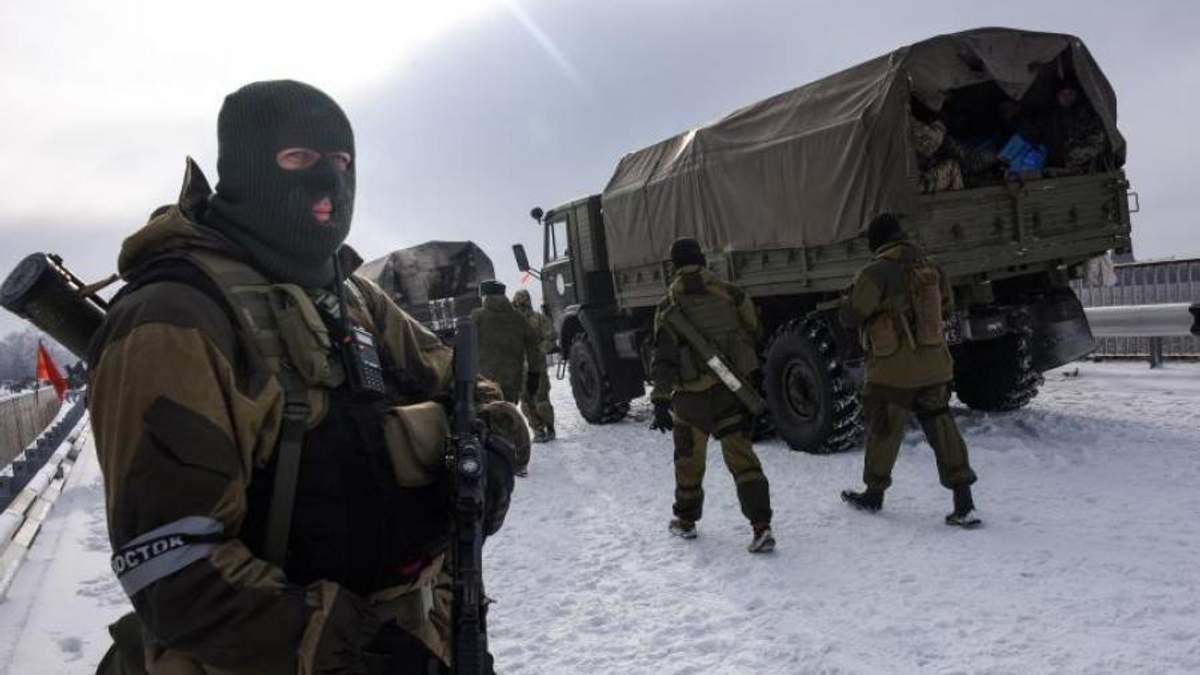 Террористы своеобразно поздравили украинцев с Рождеством