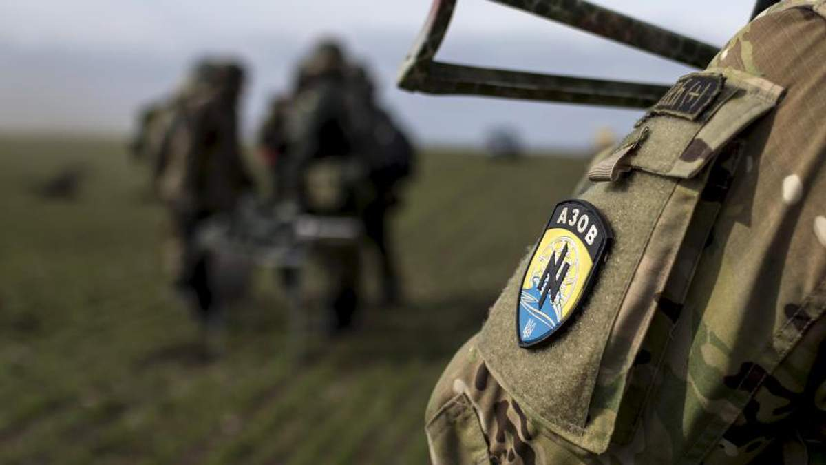 """Батальон """"Азов"""" имеет американские гранатометы"""