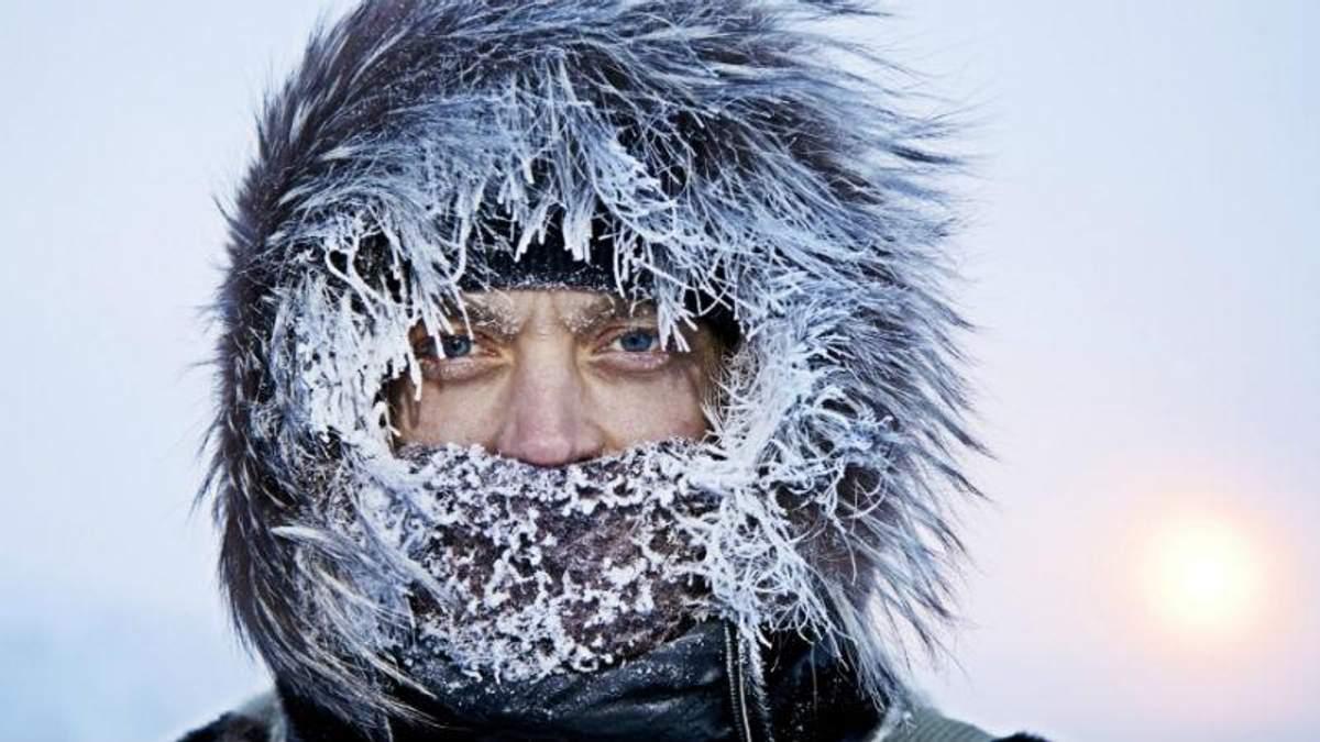 В Україну йде справжня зима