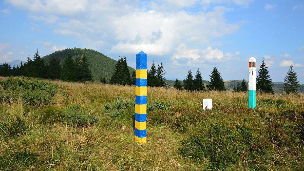 Кордон між Україною та Румунією