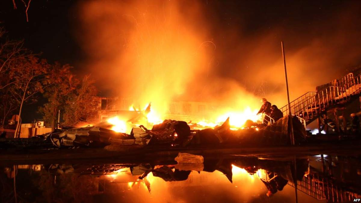 """Следствие так и не установило причины возникновения пожара в лагере """"Виктория"""" в Одессе"""