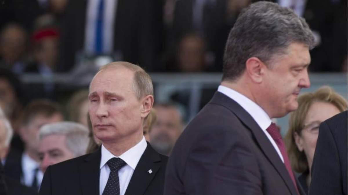 У Путина рассказали о контактах с Порошенко