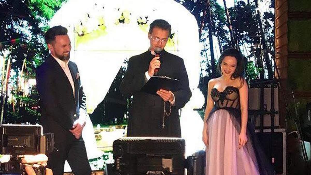 Ведучий Тимур Мірошниченко зіграв весілля: з'явились перші фото