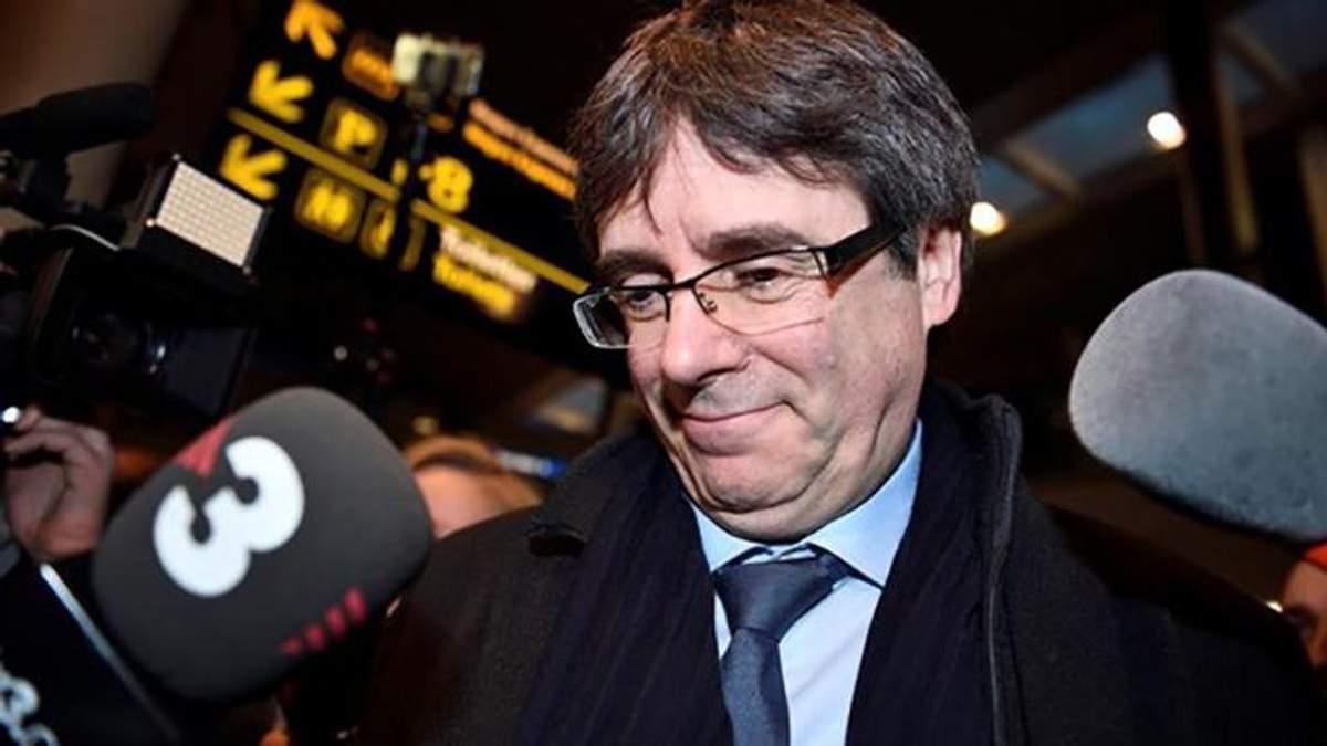 Пучдемон покинув Бельгію, попри заборону уряду Іспанії