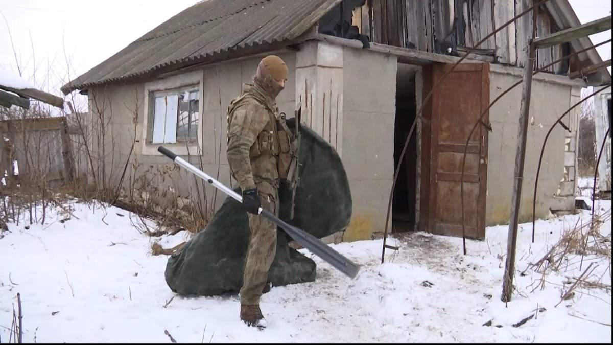 Украинские солдаты перекрыли канал контрабанды на Луганщине