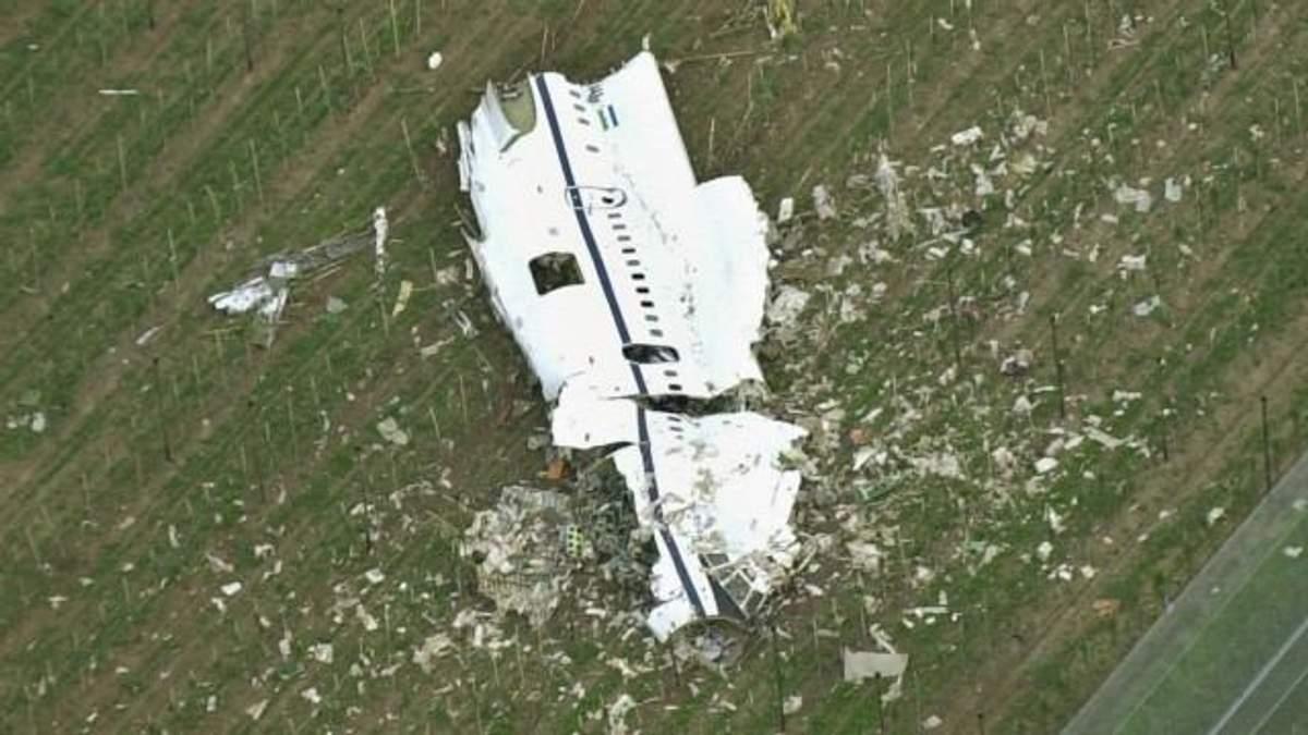 Самолет и вертолет столкнулись в воздухе в Германии: есть погибшие