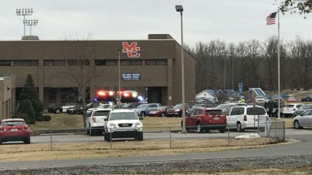 Ученик открыл стрельбу в школе США: есть жертвы