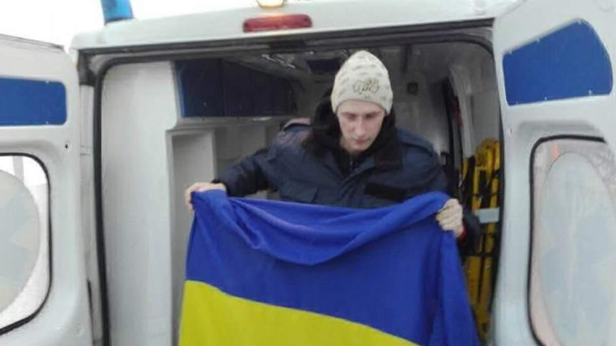 Бійця 92-ї бригади Романа Савкова звільнили з полону терористів