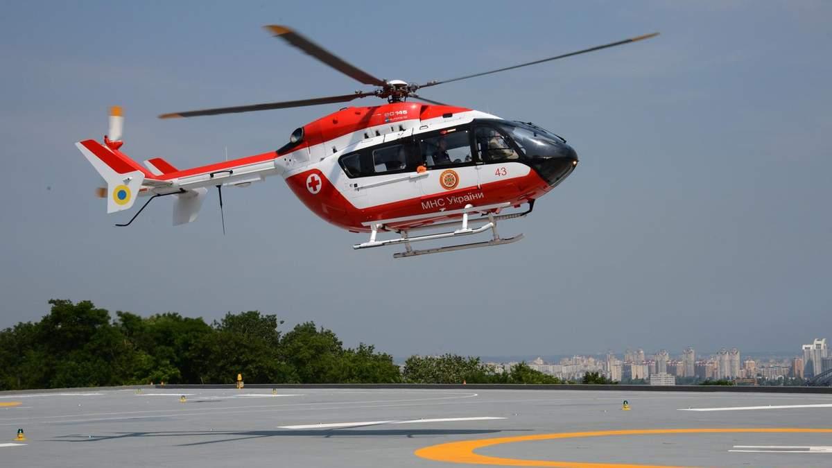 В Украине заработает вертолетный отряд службы реагирования