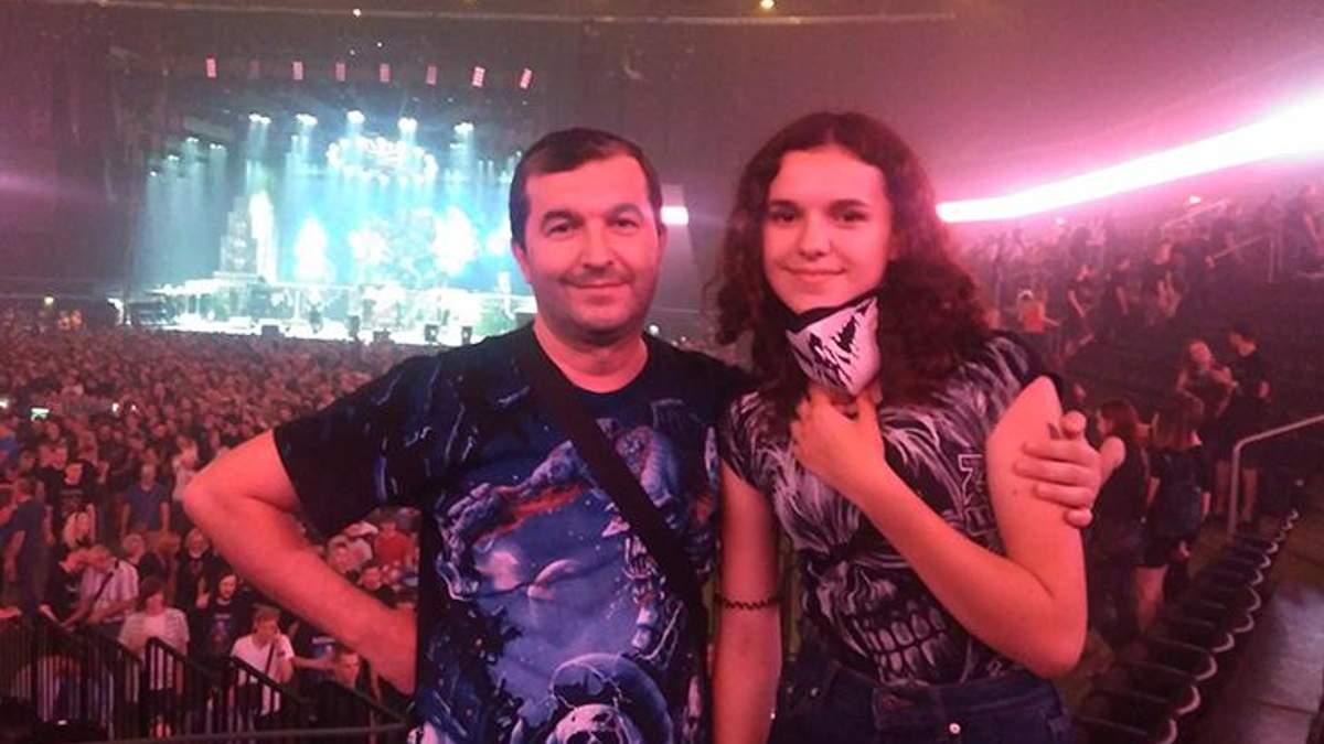 Анатолій Яворський з донькою