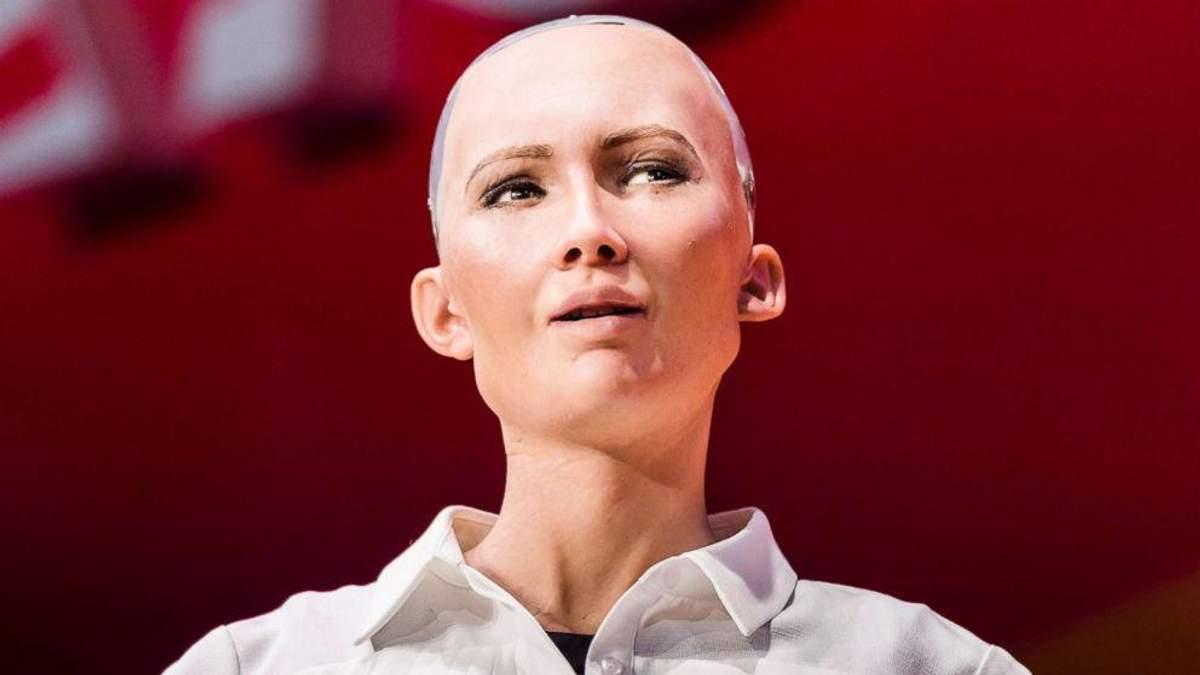 Стало известно, почему робот София не ответила на вопрос о том, как побороть коррупцию в Украине