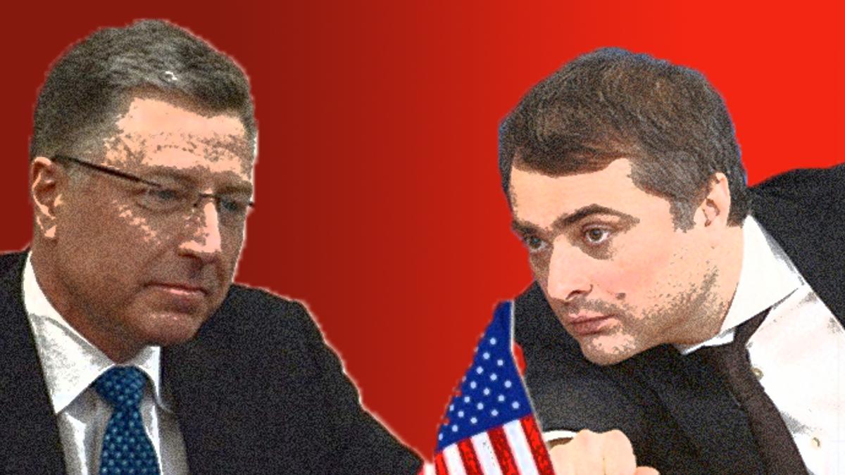 Між двома вогнями: Волкер і Сурков домовилися не в інтересах України?