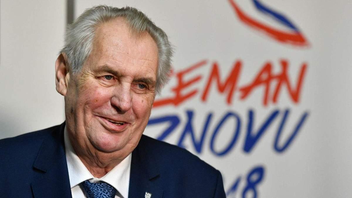 Победа Земана – удар для проевропейской части Чехии, – The Daily Telegraph