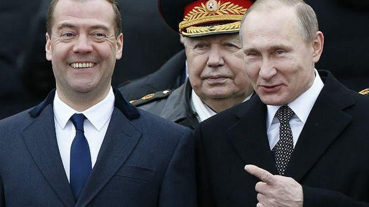 В санкційні списки потрапив і прем'єр Медведєв