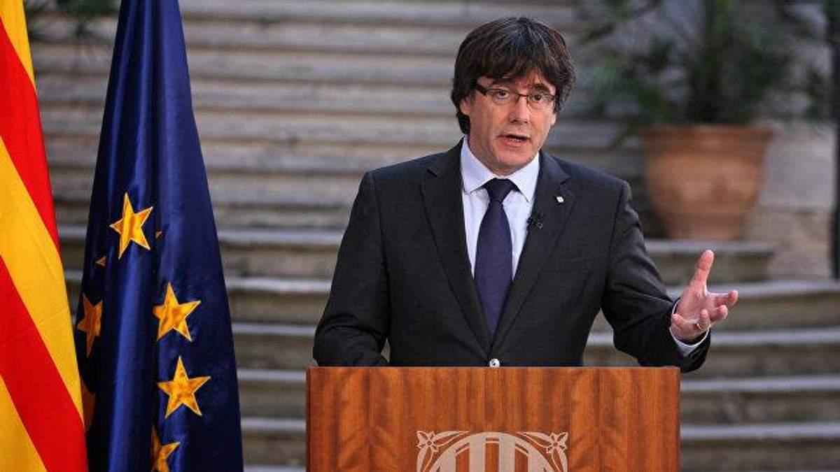 Испания просит выдвинуть другого кандидата на пост главы правительства вместо Пучдемона