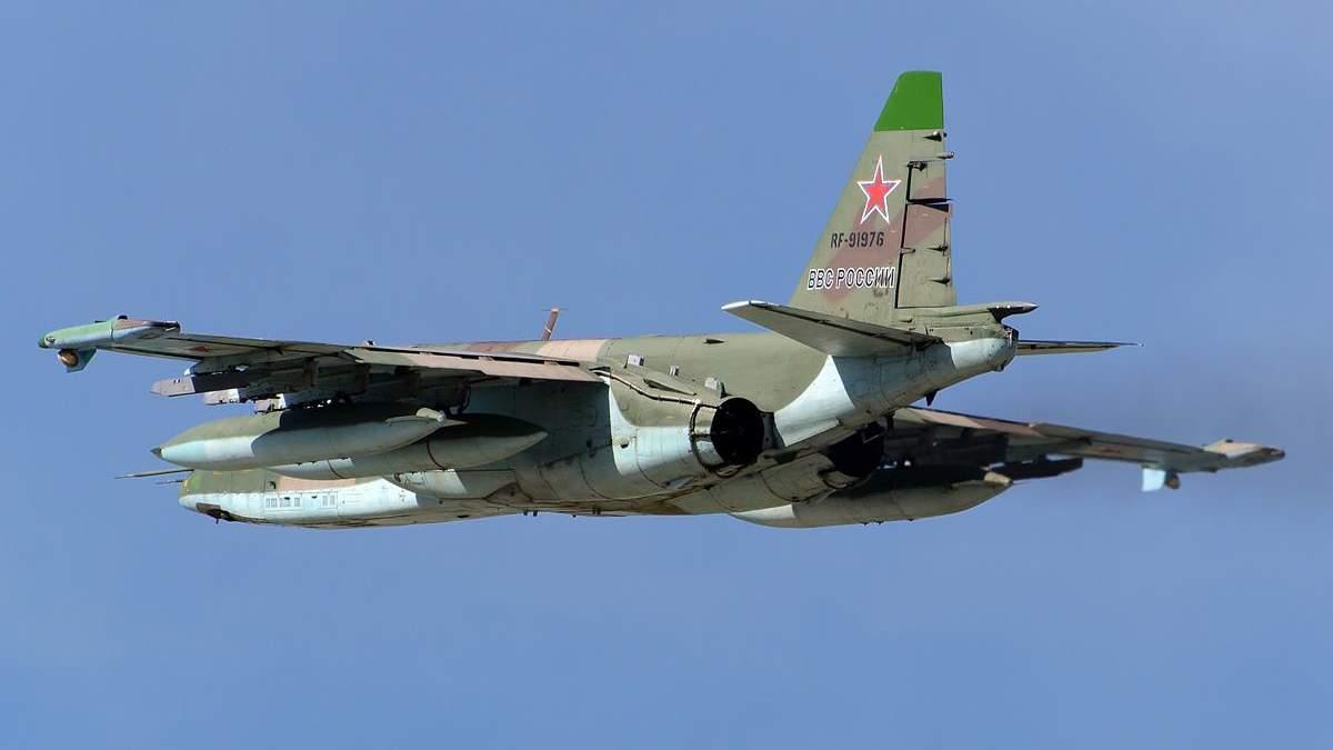 У Сирії збили російський літак Су-25: відео