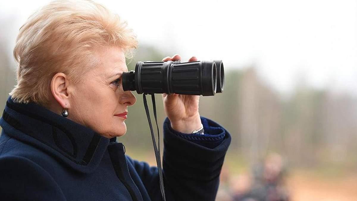 """Грібаускайте зробила тривожну заяву щодо російських """"Іскандерів"""""""