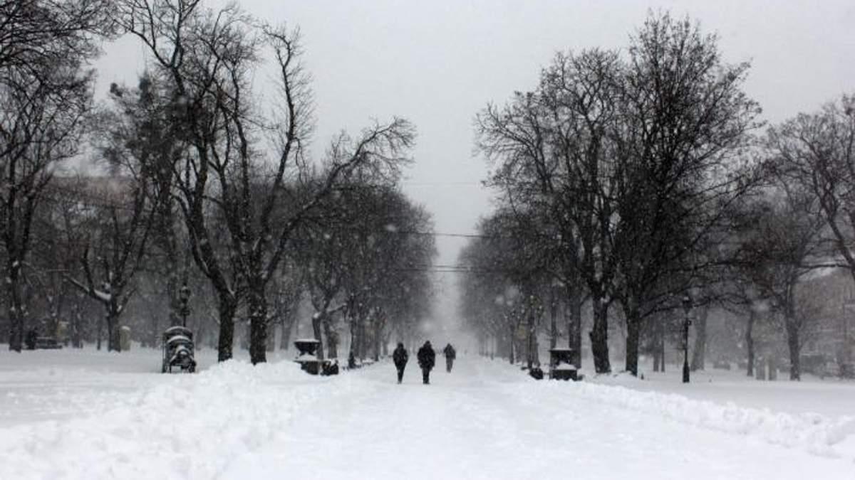 Погоды на 8 февраля в Украине: циклон с мокрым снегом и дождями