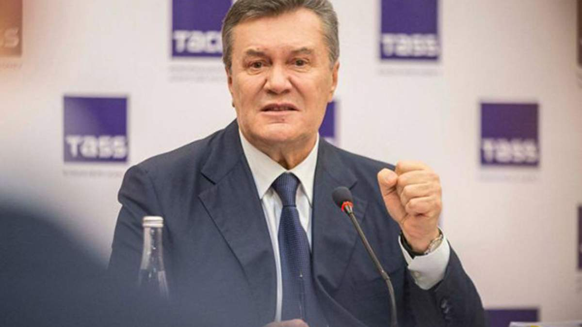 Янукович бурно отреагировал на разрешение суда на заочное расследование по делу Евромайдана